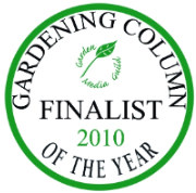 I was runner-up in the the Gardening Writers' Guild 'best column' category